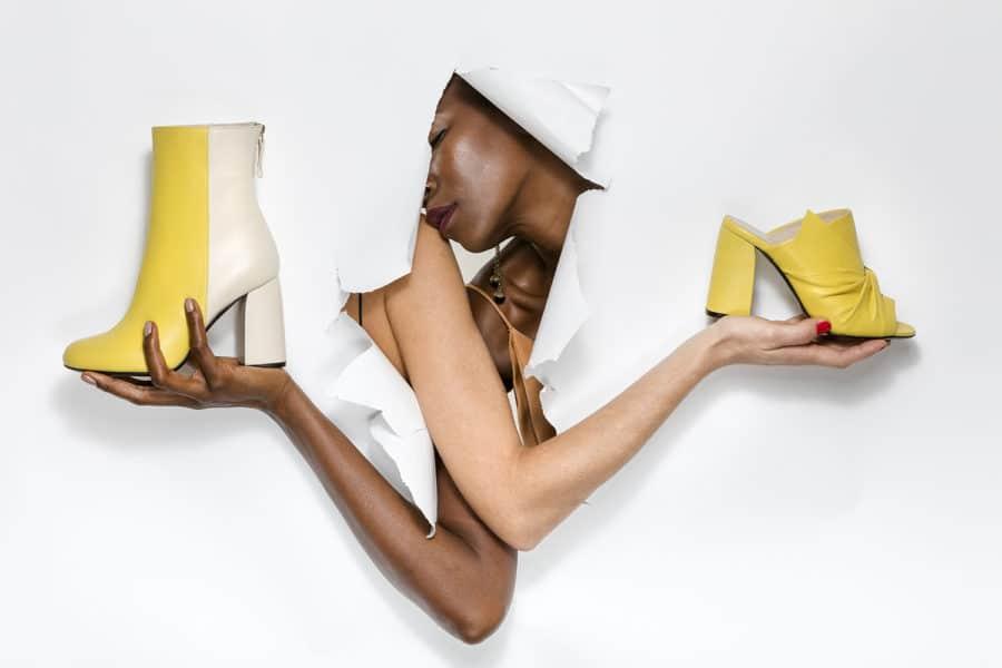 fotografo moda scarpe calzature fashion donna pelle anca stetco