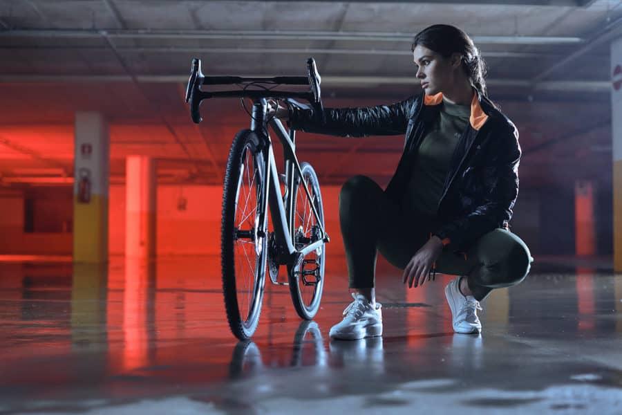 fotografo moda Vicenza abbigliamento uomo donna sportivo tecnico bicicletta Dainese