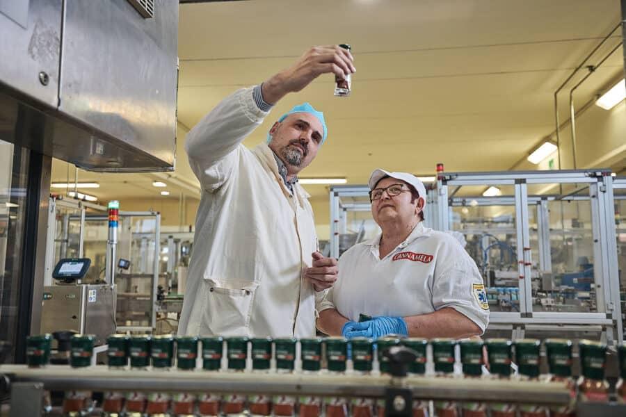 Servizi fotografici industriali settore alimentare